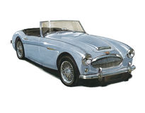 Austin Healey 3000 MkII Stock Photography