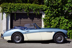 Austin-Healey 3000 oldtimer car Royalty Free Stock Images