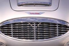 Austin healey oldtimer samochodowy grill Zdjęcie Stock