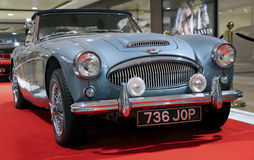 1963 Austin healey 3000 sports car Royalty Free Stock Photos