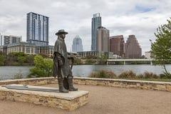 austin i stadens centrum texas Royaltyfria Foton