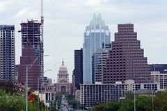 Austin, il Texas Fotografia Stock
