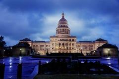 Austin il Texas Campidoglio Immagini Stock