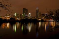 Austin, il Texas, scene di notte fotografia stock libera da diritti