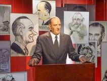 AUSTIN IL TEXAS 17 SETTEMBRE 2017: Mostra di Lyndon B Johnson alla biblioteca ed al museo di Lyndon B Johnson LBJ in Austin, fotografia stock libera da diritti