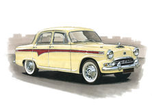 Austin A105 Royalty Free Stock Photos