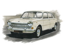 Austin 1800 and 2200 Stock Photography