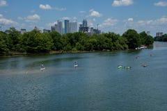 Austin le Texas Images libres de droits