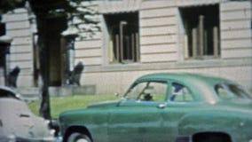 AUSTIN, LE TEXAS 1953 : Toute scène de bâtiment de gouvernement des Etats-Unis de capitale, banque de vidéos