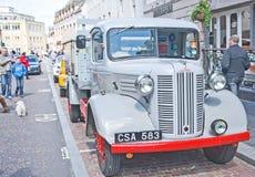 Austin lorry of 1940s vintage stock photo