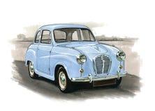 Austin A30 lub A35 Obraz Royalty Free