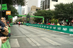 Austin marathon winner 2016 Royalty Free Stock Photos