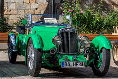 Austin Martin MK II - Classic sporty convertible of the 30s Stock Image
