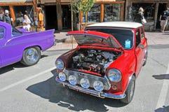 Austin Mini-Cooper royalty-vrije stock foto's