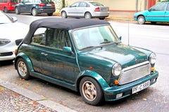 Austin Mini Cooper Royalty-vrije Stock Foto's