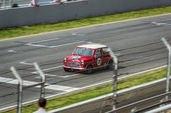 Free Austin Mini Cooper S In Circuit De Barcelona, Catalonia, Spain Royalty Free Stock Image - 151520966