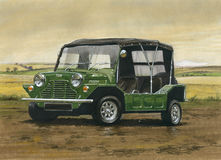 Austin Mini Moke Photos libres de droits