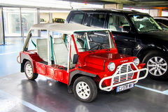Austin Mini Moke Royalty Free Stock Photography