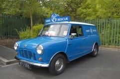 Austin mini Van, RAC Fotografia Stock