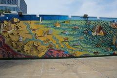 Austin Mural Images stock