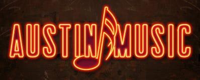 Austin Music Festival Neon Sign libre illustration
