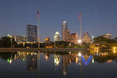 Austin at Night, Texas Stock Images