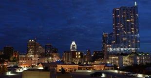Austin by night royalty free stock photo