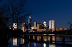 Austin by night Stock Photo