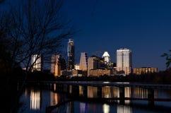 Austin by night Stock Photo