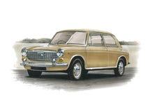 Austin 1100 o 1300 stock de ilustración