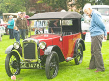 Austin open tourer at Fortrose.. Royalty Free Stock Photography