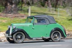 1937 Austin 7 Open tweepersoonsauto Stock Fotografie
