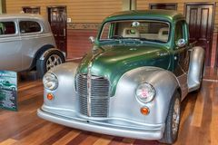 1948 Austin pickup hot rod car. At Victorian Hot Rod & Cool Rides Show in Melbourne, Australia Royalty Free Stock Images