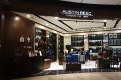 Austin Reed boutique at Genting Highlands, Malaysia stock images