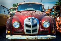 Austin retro bil Fotografering för Bildbyråer