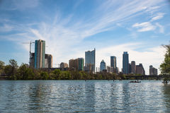 Austin From The River Royalty Free Stock Photography