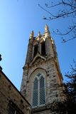 Austin Saint Mary Cathedral. This is the tower of Austin Saint Mary Cathedral in Austin,Texas Stock Photography