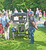 Austin seven RN  at Brodie Castle Rally. Royalty Free Stock Photo
