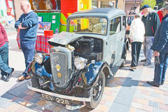 Austin seven saloon at Inverness Rally Royalty Free Stock Photography