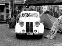 Austin A125 Sheerline front royalty free stock photography