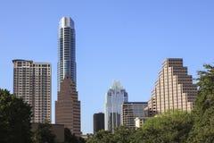 Austin Skyline Arkivfoto