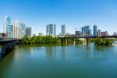 Austin Skyline céntrico Imagen de archivo