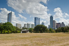Austin skyline Stock Images
