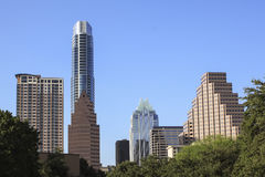 Austin Skyline Stock Photo