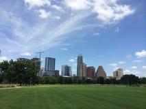 Austin Skyline das costas do auditório Imagens de Stock Royalty Free