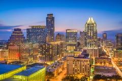 Austin, skyline de Texas, EUA imagens de stock royalty free