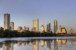 Austin, skyline de TX Fotos de Stock Royalty Free