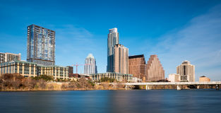 Austin skyline Stock Photography