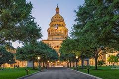 Austin State Capitol fotografia stock libera da diritti
