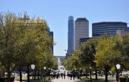 Austin-Straßen-Ansicht Stockbilder